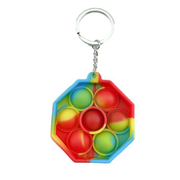 1pc Stress Relief Sensory Toys Bubble Fidget Toy Keychain Charm Pop Fidgeting Reliever Decompression Toys Push.png 640x640 1 - Popping Fidgets