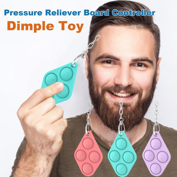 Antistress Simpl Dimmer for Adult Dimple Toy Pressure Reliever Board Controller Educational Toy Creative Babe Fidjet 1 - Popping Fidgets