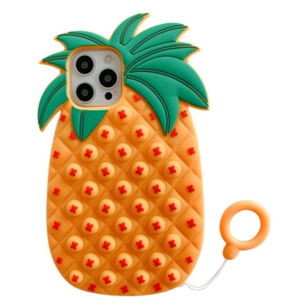 Bubble Pinapple phone case for iphone6 7 8 XS xr 11 12pro se mini Reliver - Popping Fidgets