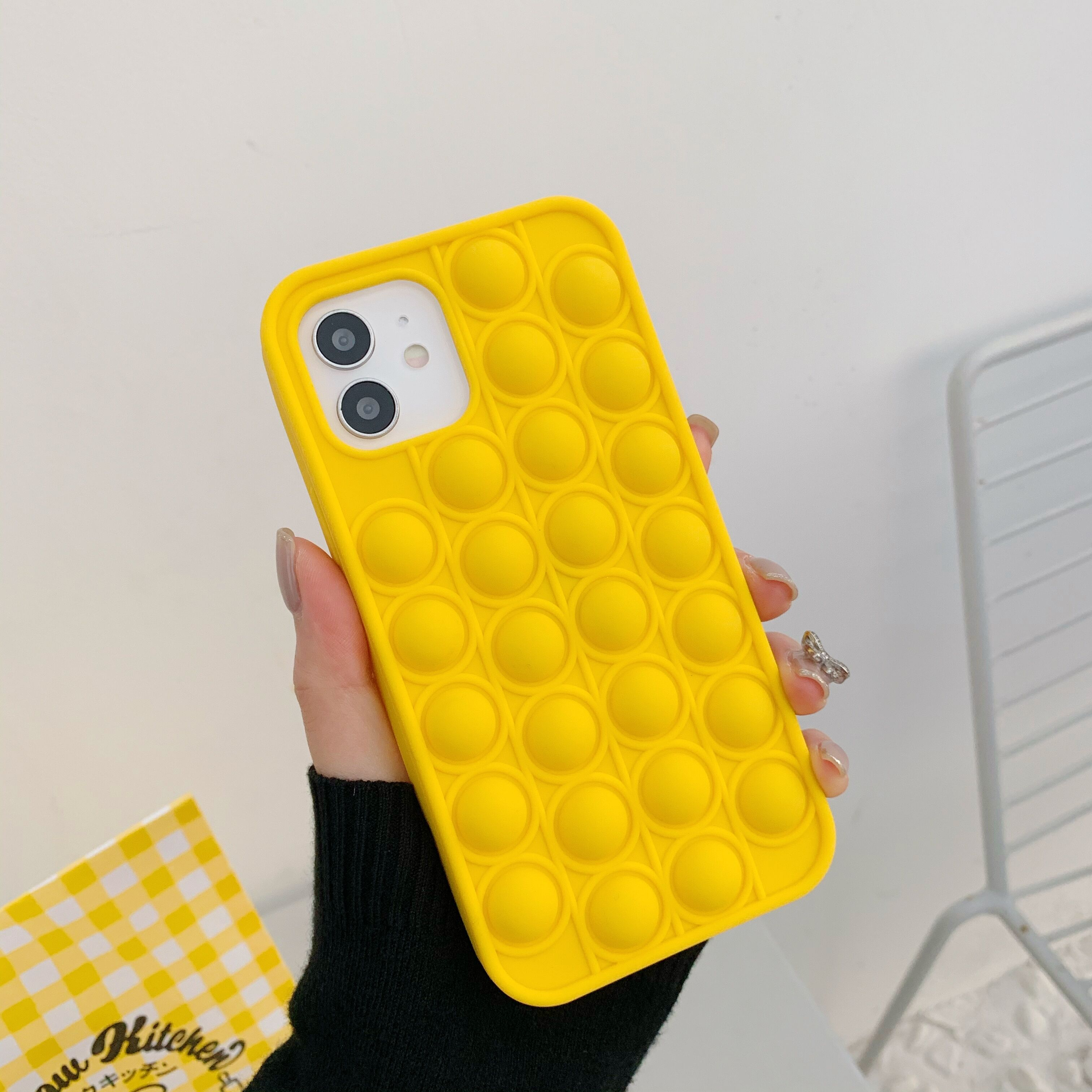 Fashion Rainbow Shockproof Silicone Phone Case For Iphone 11 12 Pro Max 6s 7 8 Plus 2 - Popping Fidgets