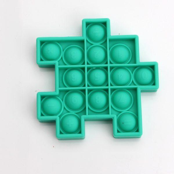 Fidget Relieve Stress Toys Pops it Cube Model Bubble Antistress Toy Adult Children Sensory Silicone Puzzle 3 - Popping Fidgets