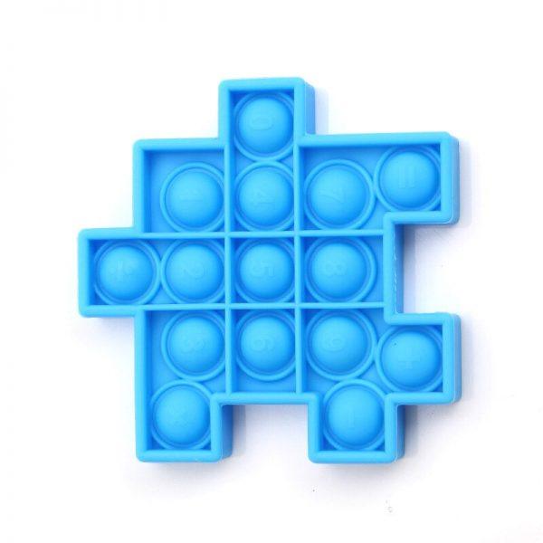 Fidget Relieve Stress Toys Pops it Cube Model Bubble Antistress Toy Adult Children Sensory Silicone Puzzle 4 - Popping Fidgets