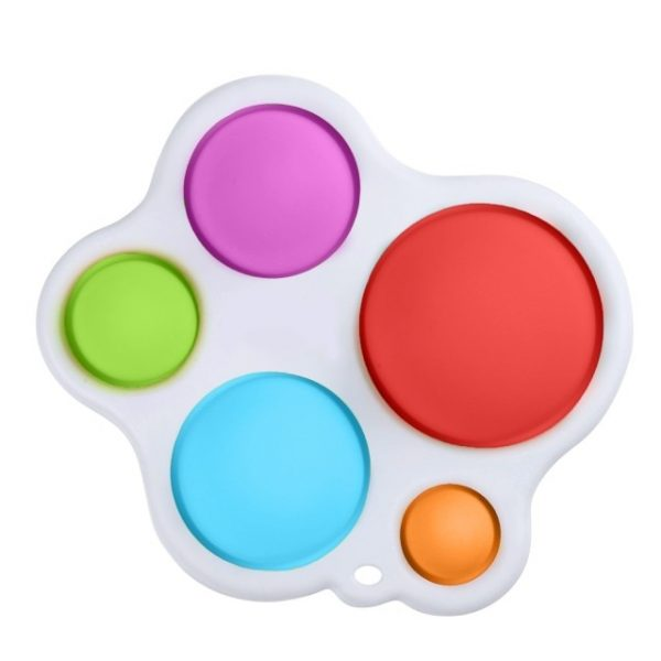Fidget Simple Dimple Toy Flower Pop It Toys Stress Relief Hand Toys Early Educational for Kids 4.jpg 640x640 4 - Popping Fidgets
