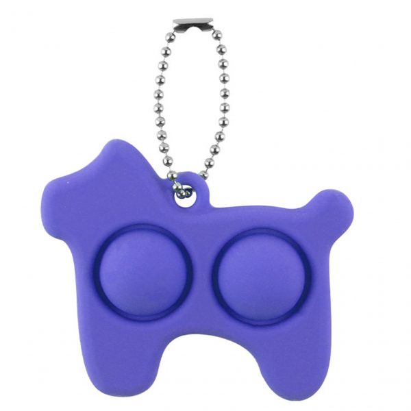 Fidget Simple Dimple Toy Stress Reliever Toy Keychain Pendant Fidget Simple Dimple Toy Stress Reliever Toy 3 - Popping Fidgets
