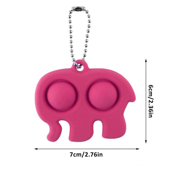Fidget Simple Dimple Toy Stress Reliever Toy Keychain Pendant Fidget Simple Dimple Toy Stress Reliever Toy 5 - Popping Fidgets