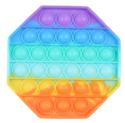 Large Pop It Hot Push Bubble Fidget Toys Adult Stress Relief Toy Antistress PopIt Soft Squishy 6.jpg 640x640 6 - Popping Fidgets
