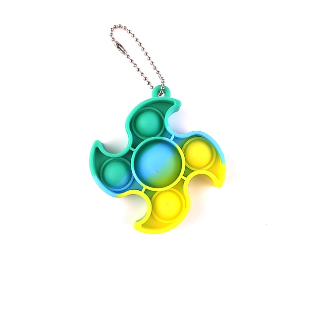 Mini Push Pops Bubble Sensory Toy Keychain Autism Squishy Adult Stress Reliever Toy for Children Relief 2.jpg 640x640 2 - Popping Fidgets