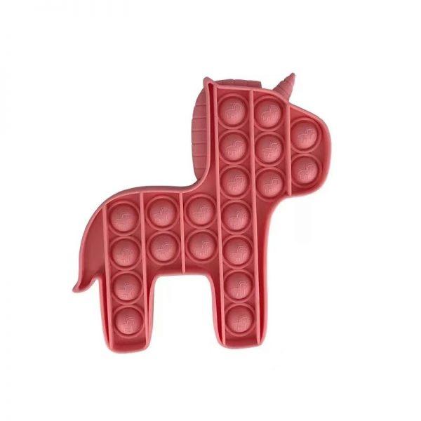 PT112 PT115 PurpleYellow Green Horse Push Pops Bubble Sensory Toy for Adult Child Funny Anti stress 1 - Popping Fidgets