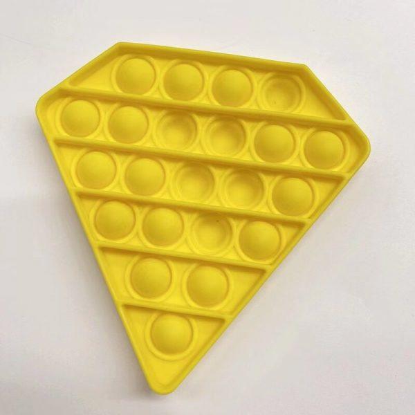 PT126 PT129 Purple Yellow Pentagon Push Pops Bubble Sensory Toy for Adult Child Funny Anti stress 2 - Popping Fidgets
