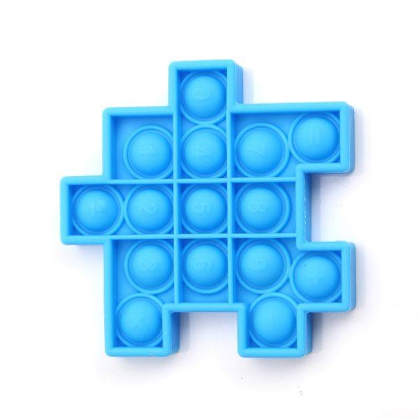 Pops it Cube Fidget Relieve Stress Toys Model Bubble Anti stress Adult Children Sensory Silicone Puzzle 4 - Popping Fidgets