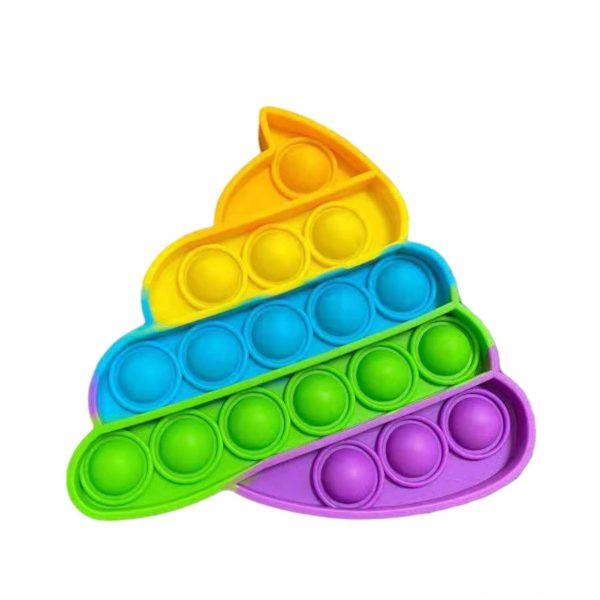 Push Bubble Sensory Anti Stress Relief Toy Kids Adult Push Bubble Pop It Ice Cream Board 3 - Popping Fidgets