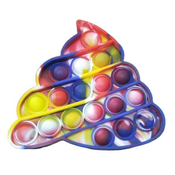 Push Bubble Sensory Anti Stress Relief Toy Kids Adult Push Bubble Pop It Ice Cream Board 5 - Popping Fidgets