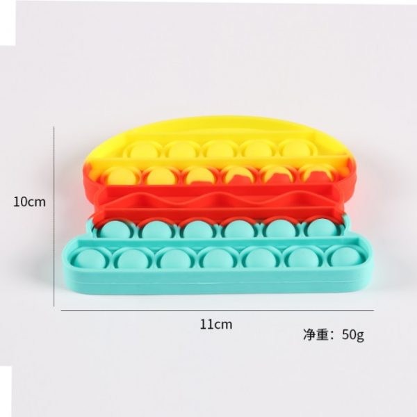 Push Pop Bubble Sensory Toy Autism Needs Squishy Stress Reliever Toys Adult Child Funny Anti stress 60.jpg 640x640 60 - Popping Fidgets