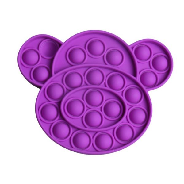 Push Pop It Bubble Multicolor Puppy Dog Shape Fidget Toys Autism Special Needs Stress Reliever Helps 4.jpg 640x640 4 - Popping Fidgets