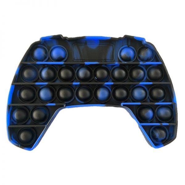 Push Up Bubble Kids Pop It Simple Dimple Fidget Toy Adult Gamepad Antistress Hand Push Bubbles 3 - Popping Fidgets