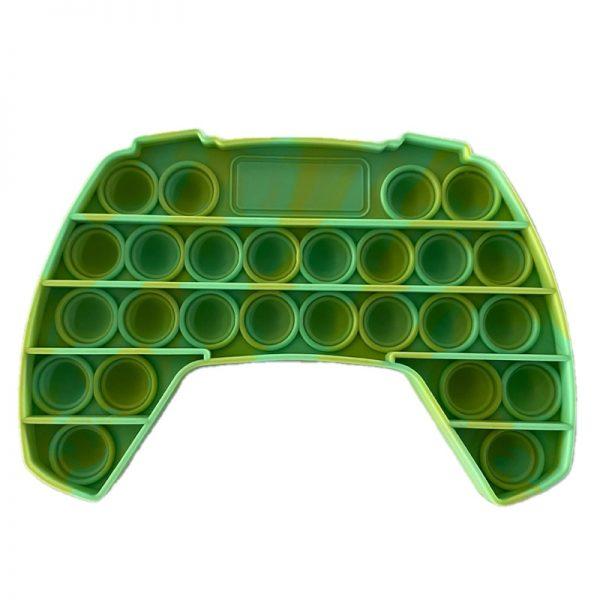 Push Up Bubble Kids Pop It Simple Dimple Fidget Toy Adult Gamepad Antistress Hand Push Bubbles 5 - Popping Fidgets