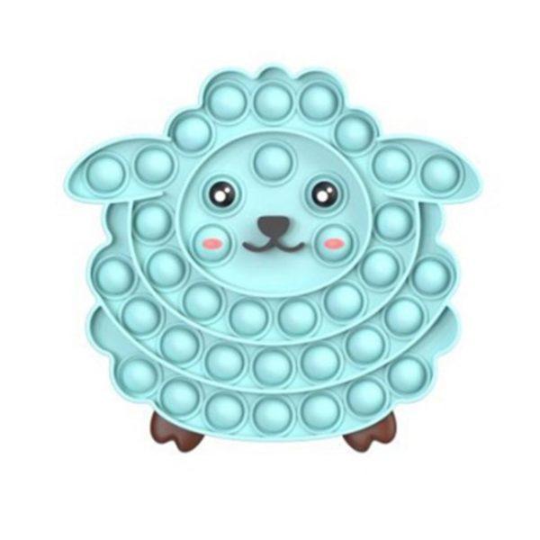 Silicone Pop Fidget Reliver Stress Toys Sheep Shape Push It Bubble Antistress Adult Children Sensory Toy 1.jpg 640x640 1 - Popping Fidgets