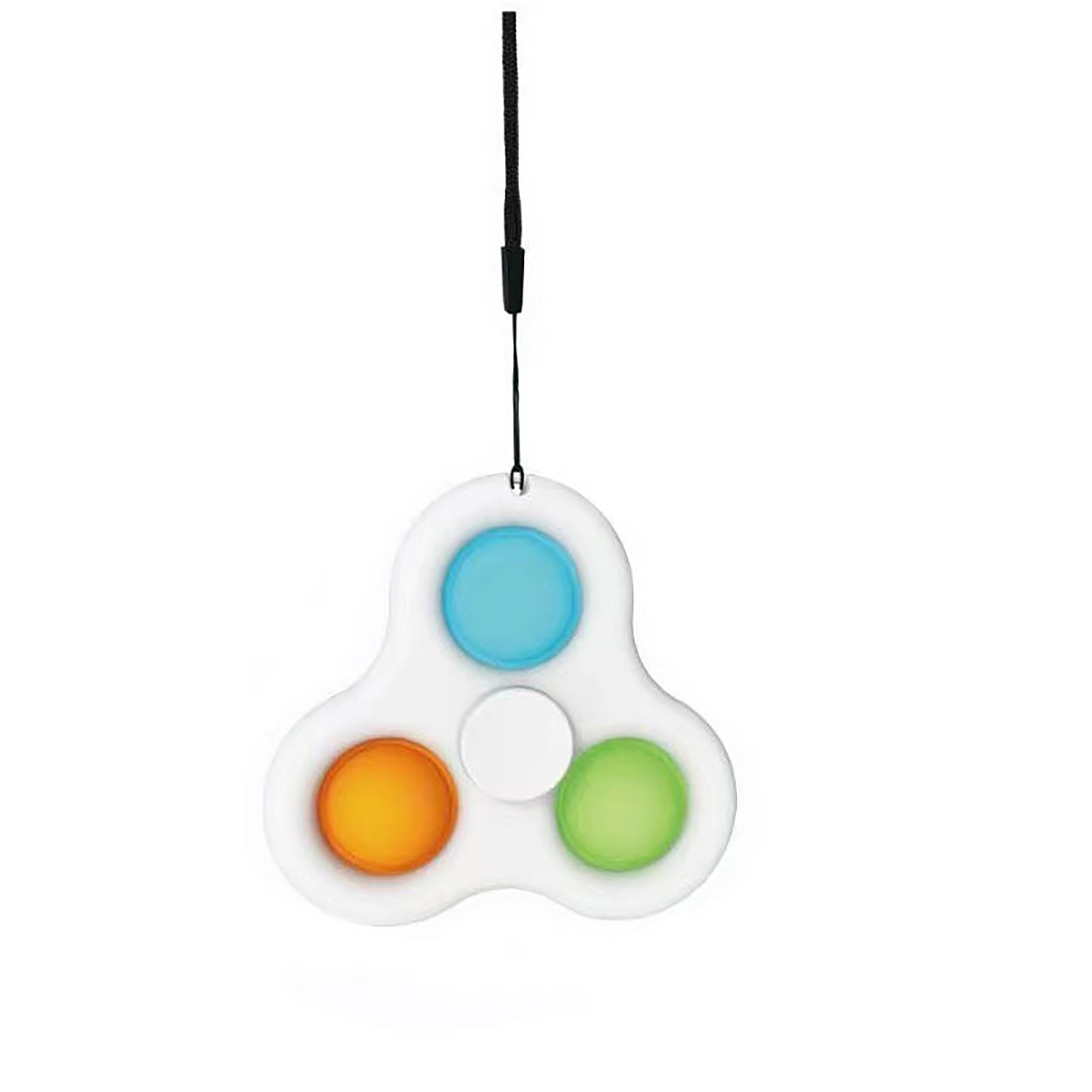 Simple Dimple Spinner Push Pop Fidget Toy Anti Stress Toy Anxiety Relief Toy Pop Sensory Toy 2 - Popping Fidgets