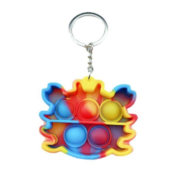 Stress Relief Sensory Toy Bubble Fidgeting Toy Keychain Charm Pop Fidget Reliver Stress Toys Push It 15.jpg 640x640 15 - Popping Fidgets