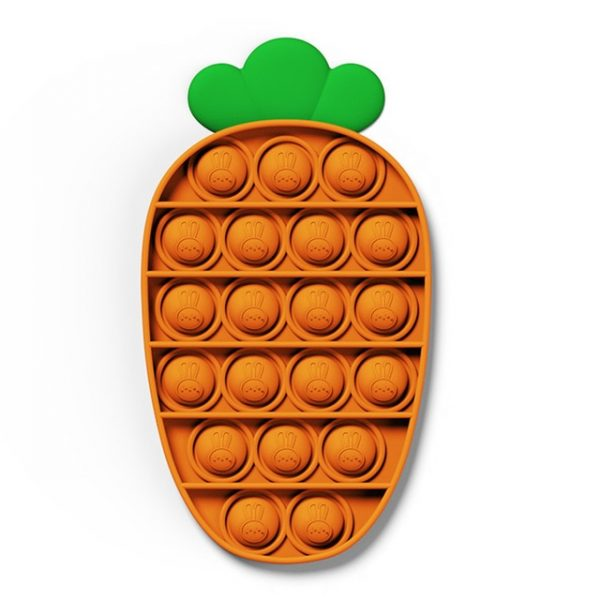 color Push Pop Toy Sensory Round Fidget Toy Stress Reliever Toys Push Bubble Toy Stress Reliever 1.jpg 640x640 1 - Popping Fidgets