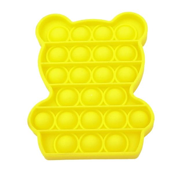 color Push Pop Toy Sensory Round Fidget Toy Stress Reliever Toys Push Bubble Toy Stress Reliever 21.jpg 640x640 21 - Popping Fidgets
