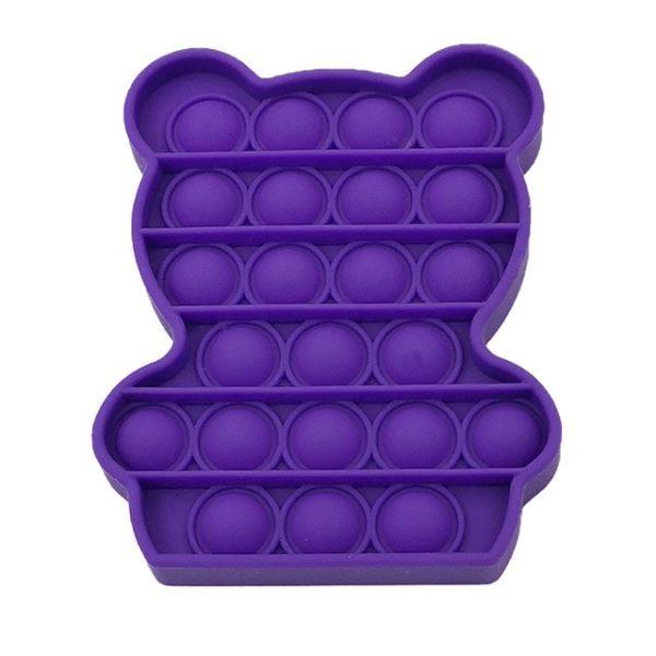 color Push Pop Toy Sensory Round Fidget Toy Stress Reliever Toys Push Bubble Toy Stress Reliever 22.jpg 640x640 22 - Popping Fidgets