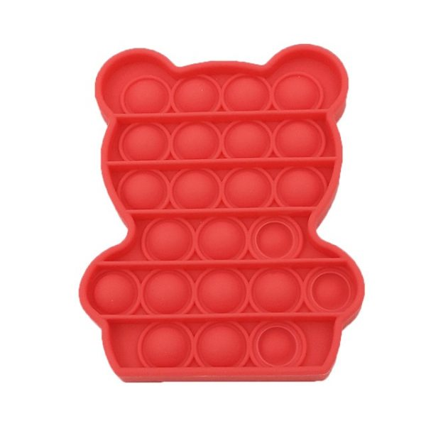 color Push Pop Toy Sensory Round Fidget Toy Stress Reliever Toys Push Bubble Toy Stress Reliever 24.jpg 640x640 24 - Popping Fidgets
