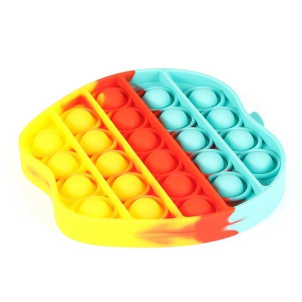 color Push Pop Toy Sensory Round Fidget Toy Stress Reliever Toys Push Bubble Toy Stress Reliever 32.jpg 640x640 32 - Popping Fidgets