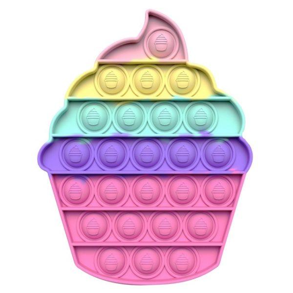 color Push Pop Toy Sensory Round Fidget Toy Stress Reliever Toys Push Bubble Toy Stress Reliever 4.jpg 640x640 4 - Popping Fidgets