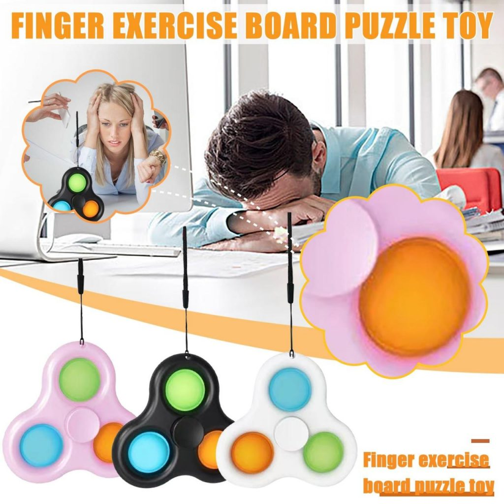 Benefits of using a popping fidget spinner for anxiety and ADHD