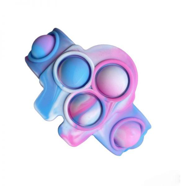 Pop Fidget It Toys Among 6 US Silicone Bracelet Squeeze Toy Soft Dimple Bubble Bracelet Stress 2 - Popping Fidgets
