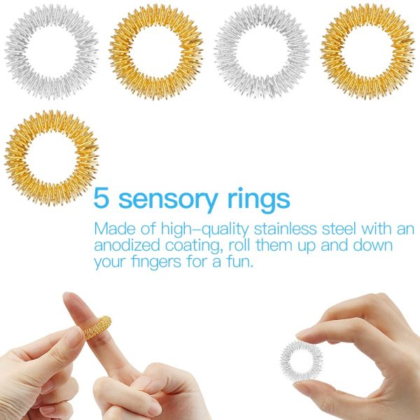 20 24 Pack Fidget Sensory Toy Set Stress Relief Toys Autism Anxiety Relief Stress Pop Bubble 4 - Popping Fidgets