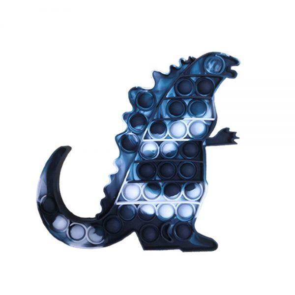 Pop Fidget Toys King Kong Vs Godzilla Push It Bubble Stress Toy Antistress Soft Reliever Toy 4 - Popping Fidgets