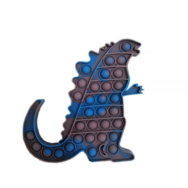 Pop Fidget Toys King Kong Vs Godzilla Push It Bubble Stress Toy Antistress Soft Reliever Toy 5 - Popping Fidgets