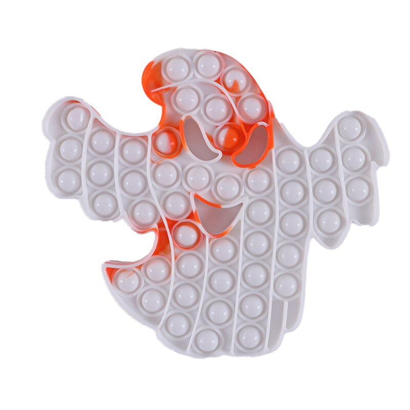 Fidget Toys Halloween Series Squeeze Toys Pumpkin Ghost Witch Scarecrow Adult Children Stress Relief Toy Halloween 2 - Popping Fidgets