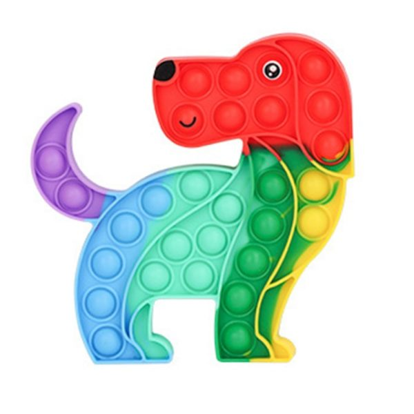 Rainbow Pop Fidget Stress Relief Squeeze Toys for Kid Squishy Sensory Anti Stress Game Hand Simple 12.jpg 640x640 12 - Popping Fidgets