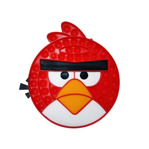angry bird red pop it fidget toy