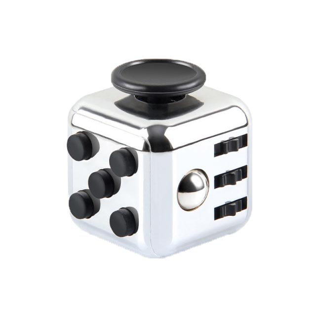 colourful cube fidget cube toy 2285 - Popping Fidgets