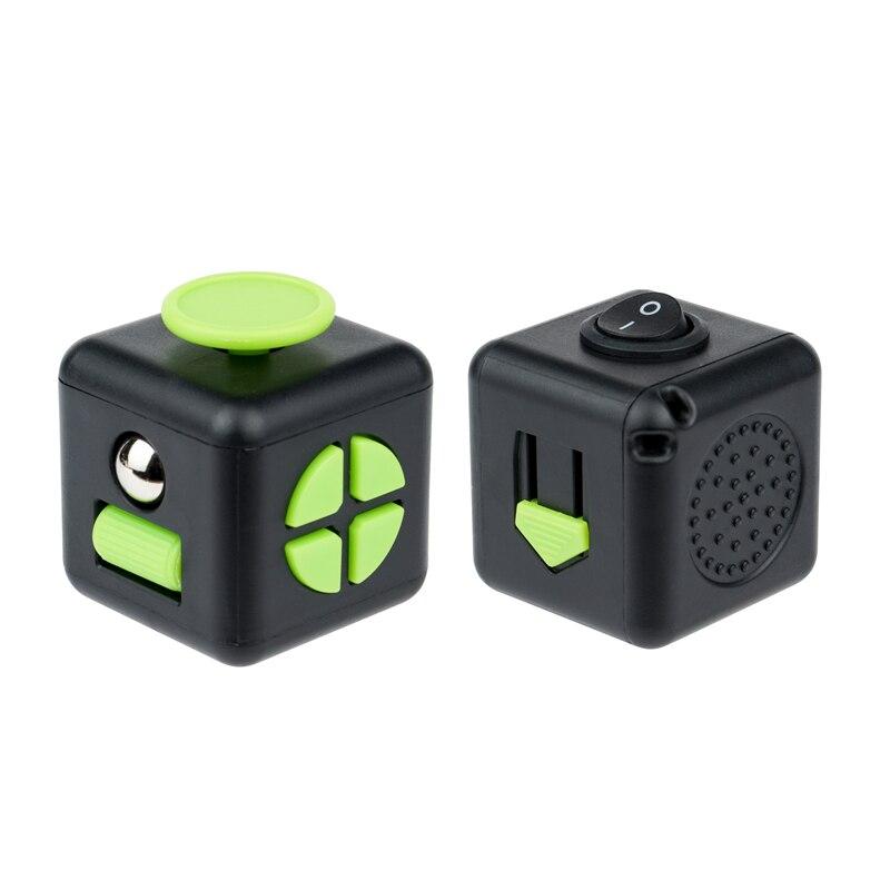 fidget cube colourful cube fidget toy 8239 - Popping Fidgets