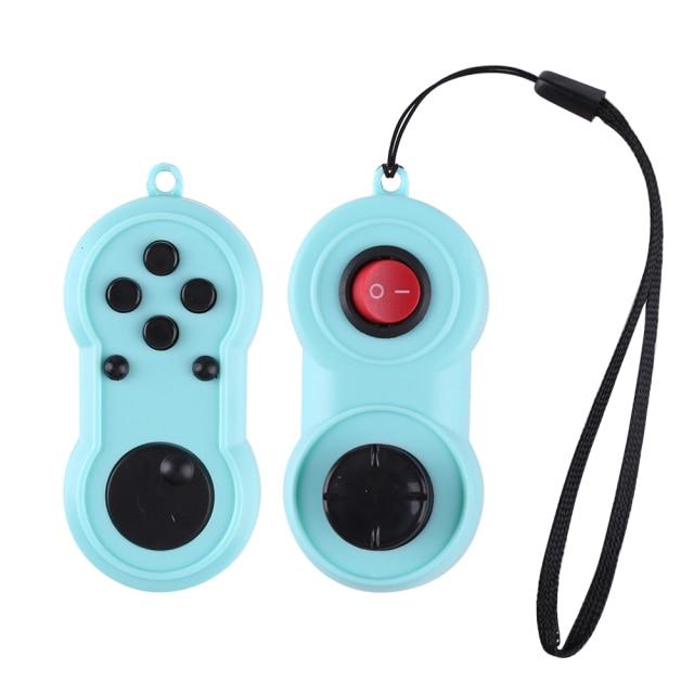 fidget pad rainbow handle controller fidget toy 4460 - Popping Fidgets